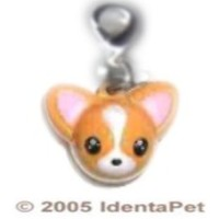 Too Cute for Words Chihuahua Adora-Bell Charm