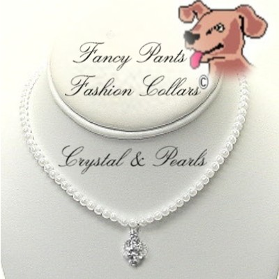 "Crystal & Pearls - Fits 12"" to 14"""