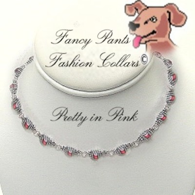 "Pretty in Pink - Fits 14"" to 16 1/2"""