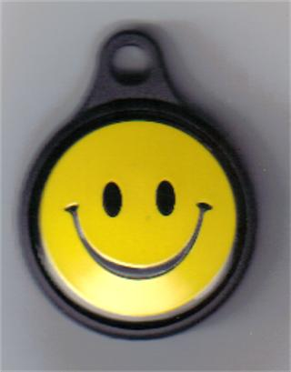 Smiley :-) ID Tag - 1""