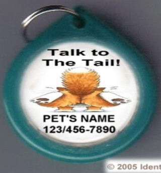 Talk to the Tail GumDrop Pet ID Tag