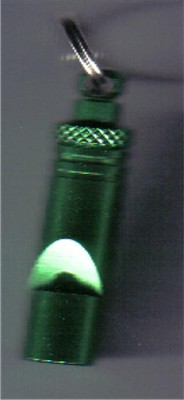Training Whistle - Green