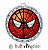 Fancy Pants Fashion Bottle Cap (SILVER) Pet ID Tag ~ 